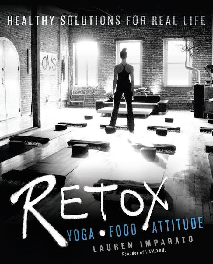 Lauren Imparato Retox yoga book