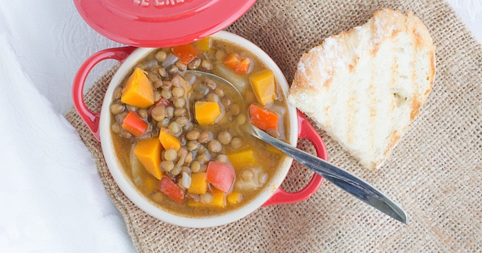 Tasty-mediterraneo-vegan-lentils-stew-recipe