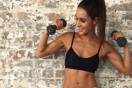 Sweat with Kayla: The Instagram star's new workout app is super smart