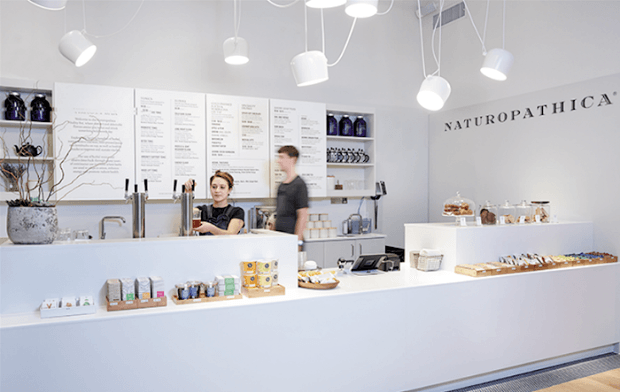 Naturopathica's new Vitality Bar is like a juice bar on herbal steroids