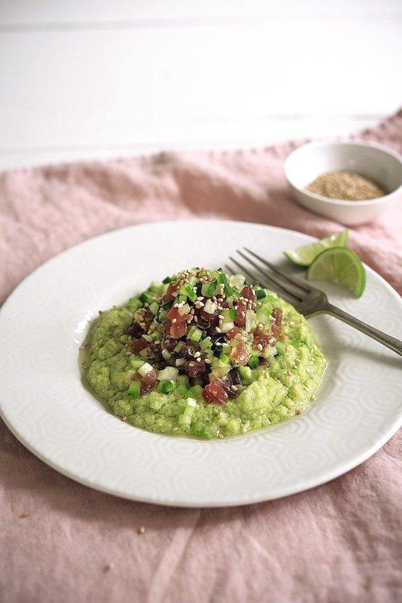 Cook Nourish Glow Tuna Tartare