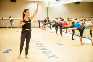 Equinox is amping up its barre program—starting with this Tara Lipinski-inspired class