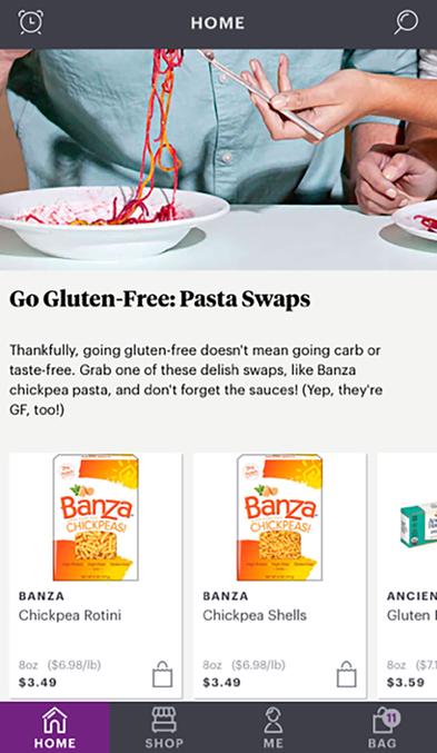 FoodKick Go Gluten-Free- Pasta Swaps