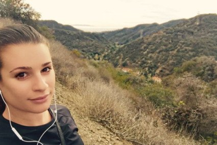 Lea Michele won't do a workout she hates (and loves to journal)