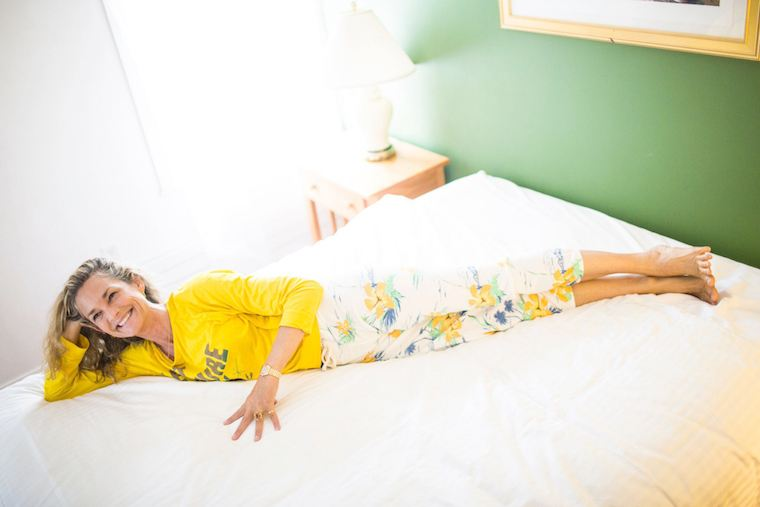 Of the best yoga happens in bed colleen saidman yee shows you how