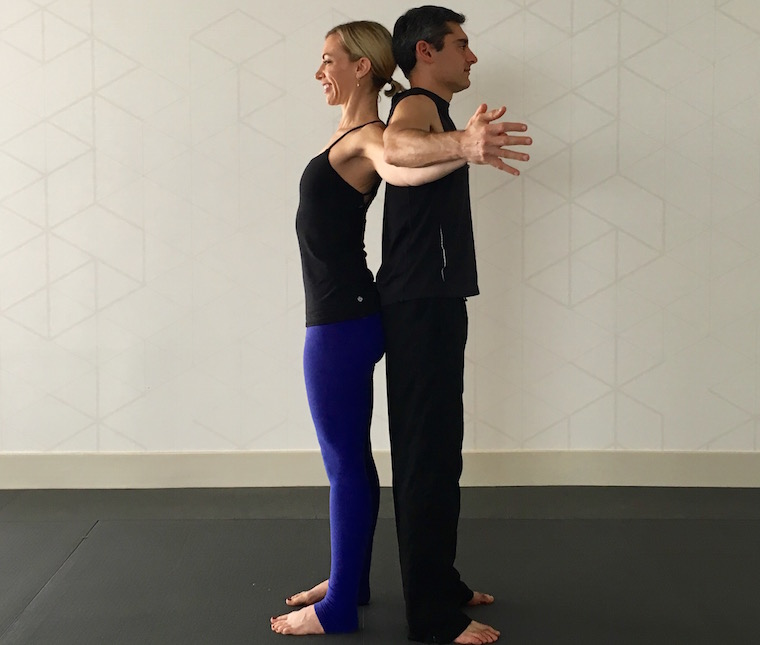 Thumbnail for 10 partner yoga poses for a strong (and flexible) relationship