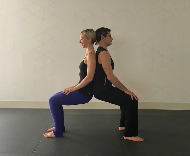 Easy starter yoga