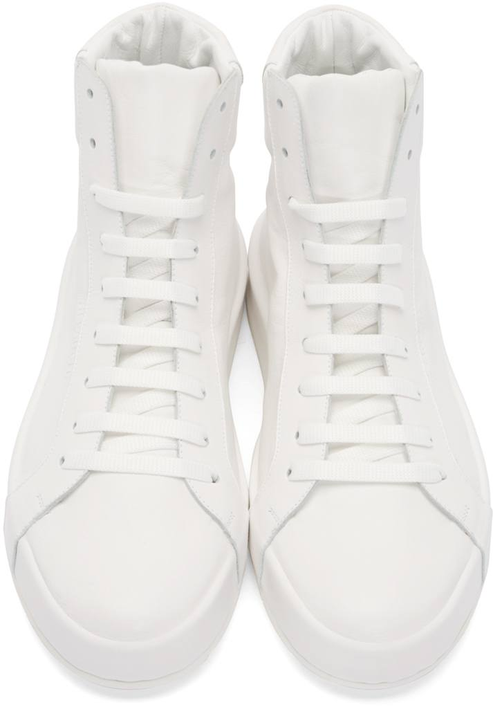 jill-sander-white-hi-top-sneakers