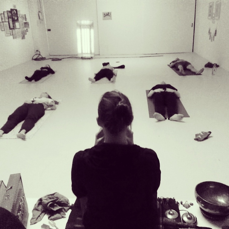 Sound Body Yoga sound bath in Greenpoint