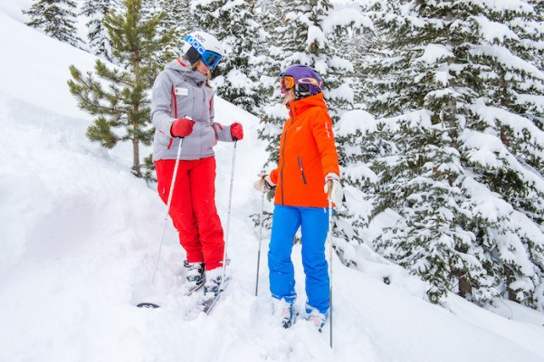 Why women are hitting the slopes in squads