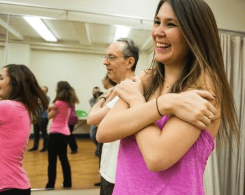 What it's like to laugh through an entire yoga class