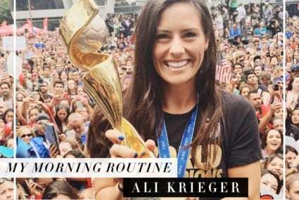 The protein-packed breakfast that fuels soccer superstar Ali Krieger