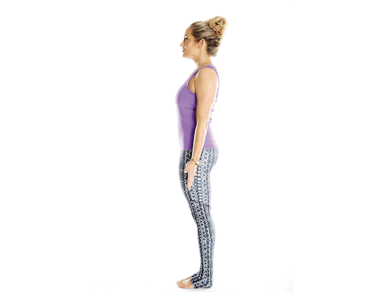Tadasana, Mountain Pose, empower sequence