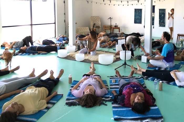 Thumbnail for Kassia Meador is hosting sound baths in Venice, and you're invited