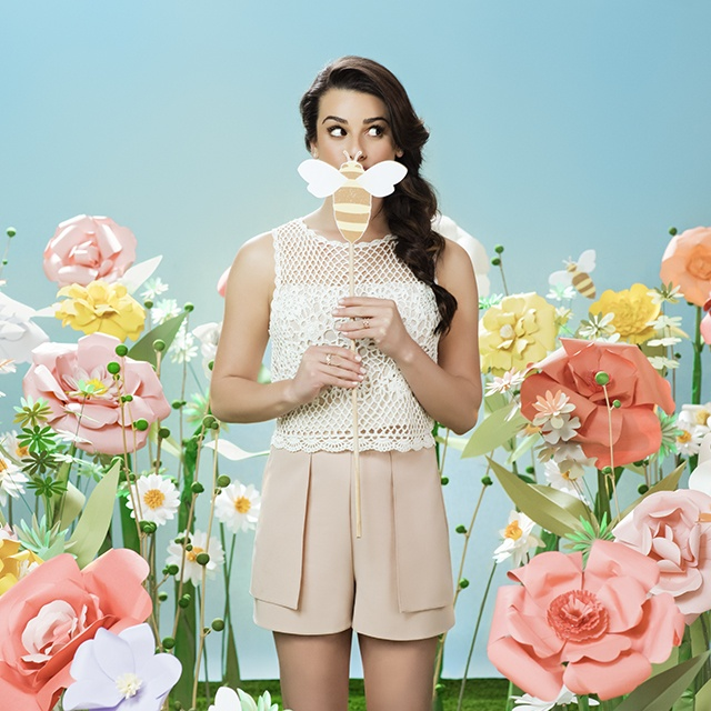 Lea Michele for Burts Bees