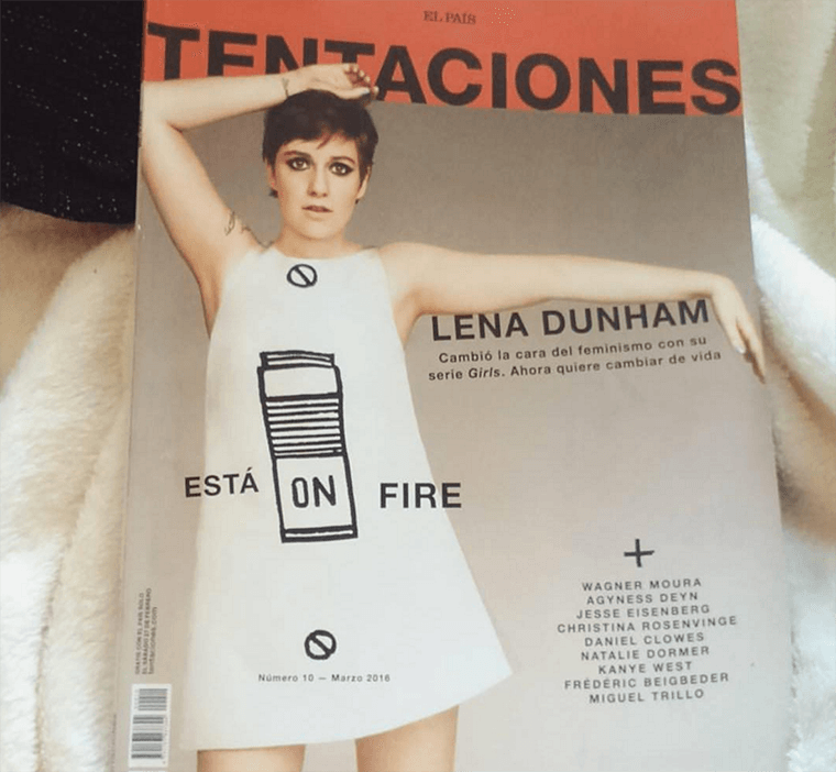 Photo: Lena Dunham's Instagram