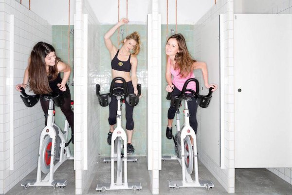 A sneak peek inside Paris' indoor cycling scene—which is just picking up speed