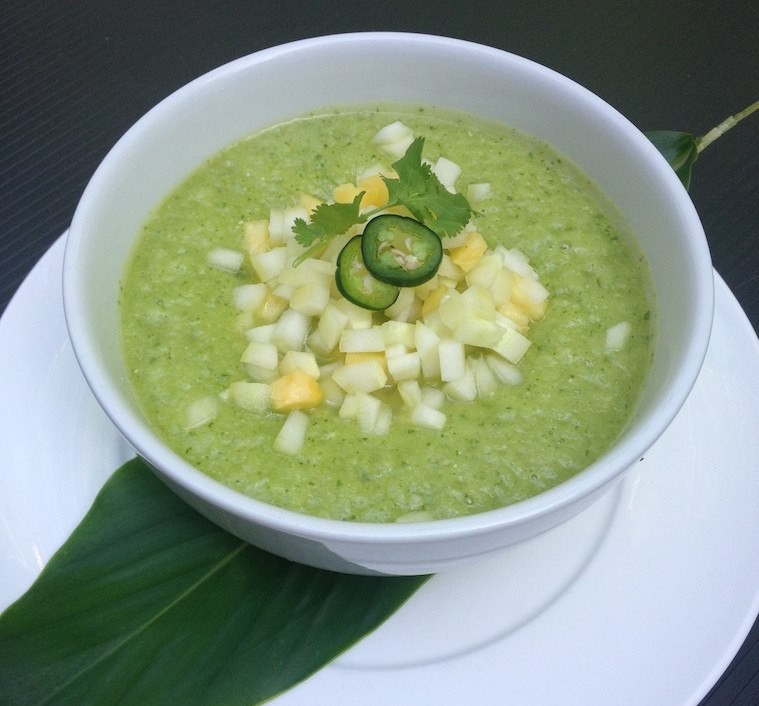 Pineapple-Cucumber-Gazpacho