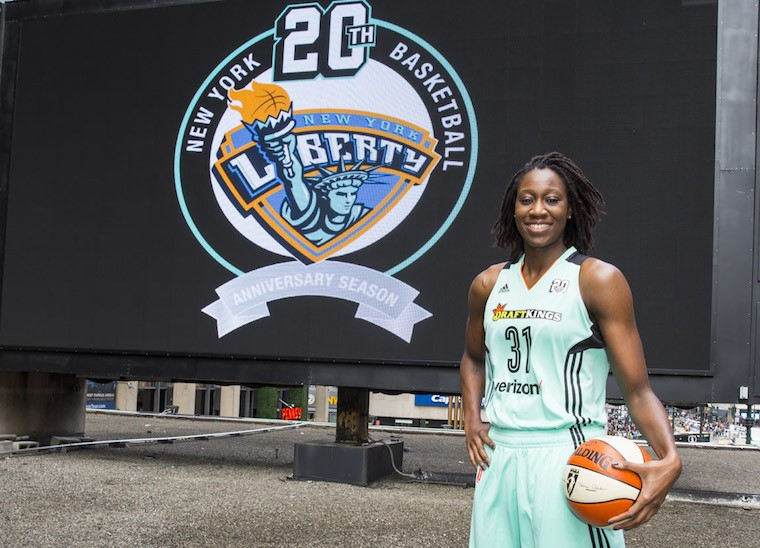 Thumbnail for WNBA star Tina Charles on how strong, supportive women helped her succeed
