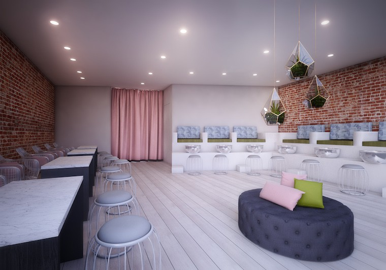 Thumbnail For Van Court Is NYCs New Healthy Nail Salon With A Top Coat Of Stylish