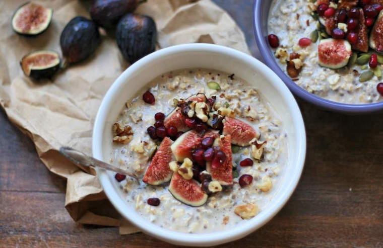 overnight oats, fiber