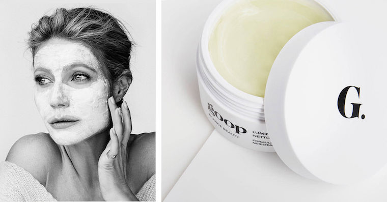 Thumbnail for Gwyneth expands her wellness empire with goop's first skin-care line