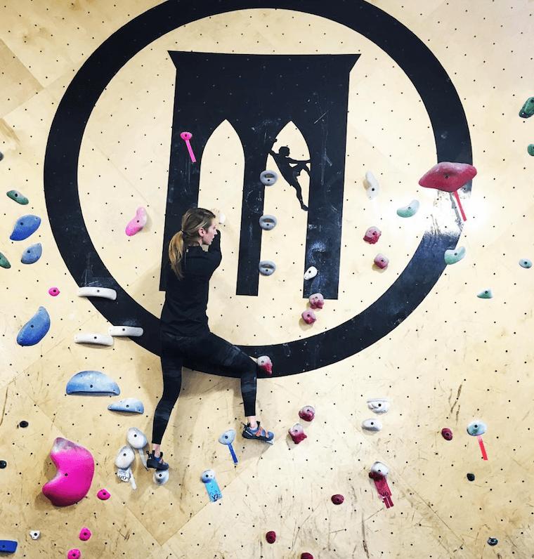 climbing in NYC