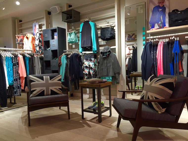 Thumbnail for Sweaty Betty brings its super-chic Brit style to the Upper East Side