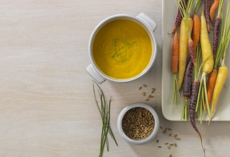 Carrot- Soup-Chives