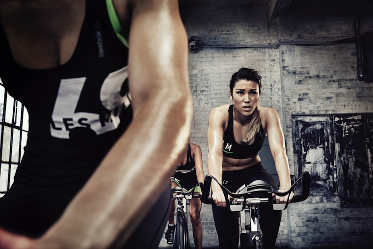 HIIT spin class