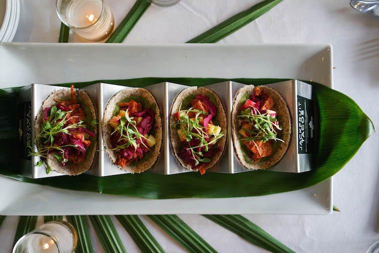 Jackfruit tacos. Image: Kristy Mucci