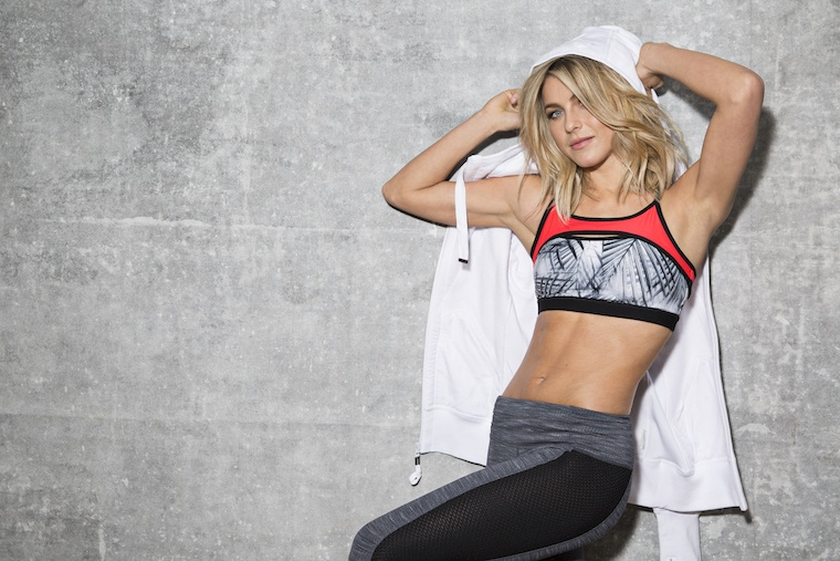 Thumbnail for Julianne Hough's new workout line features leggings made from coffee