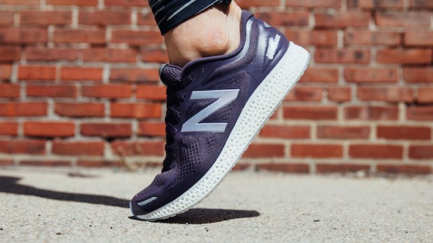 New Balance has created the first 3D-printed running sneaker