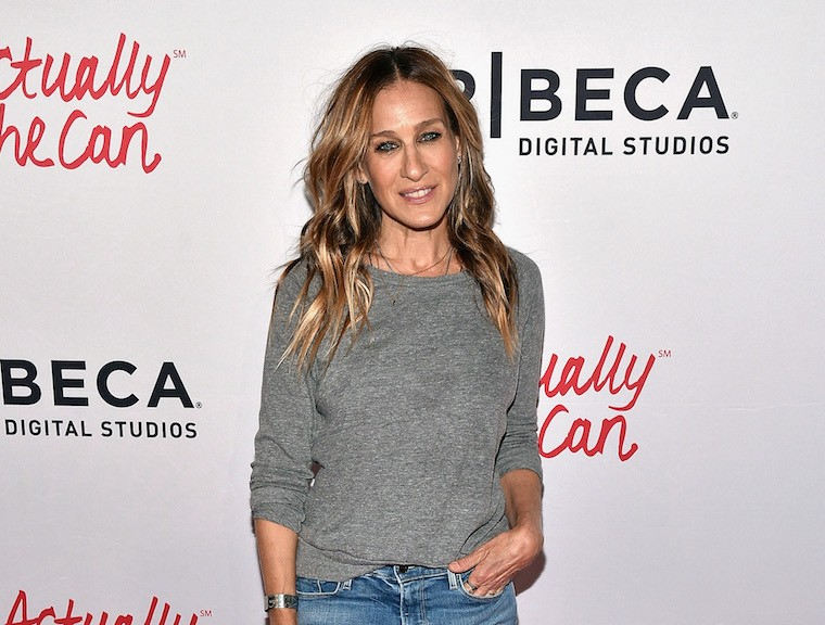 Sarah Jessica Parker attends the #ActuallySheCan Film Series event on April 21, 2016 in New York City