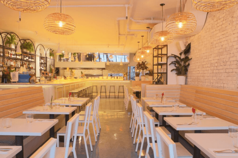 Two hands interior