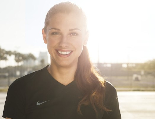 Alex Morgan talks gender equality and staying zen under pressure