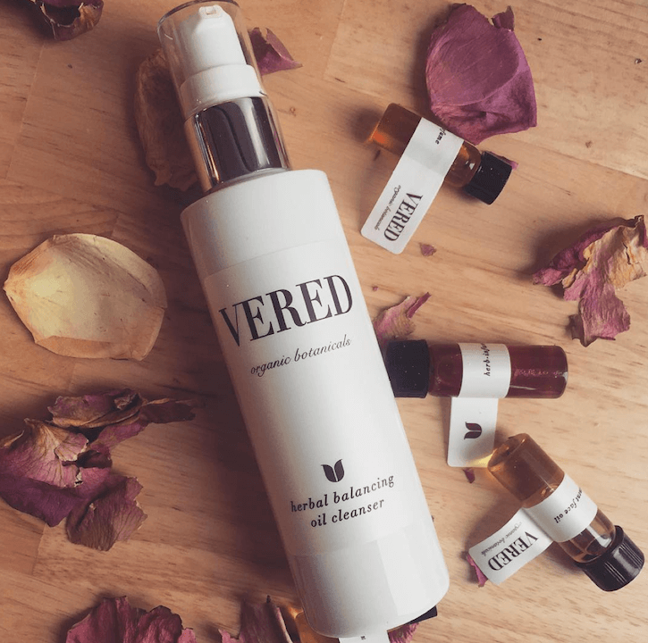 Vered Herbal Skin Balancing Cleansing Oil