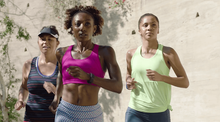 Thumbnail for Athleta's new campaign wants you to embrace #squadgoals