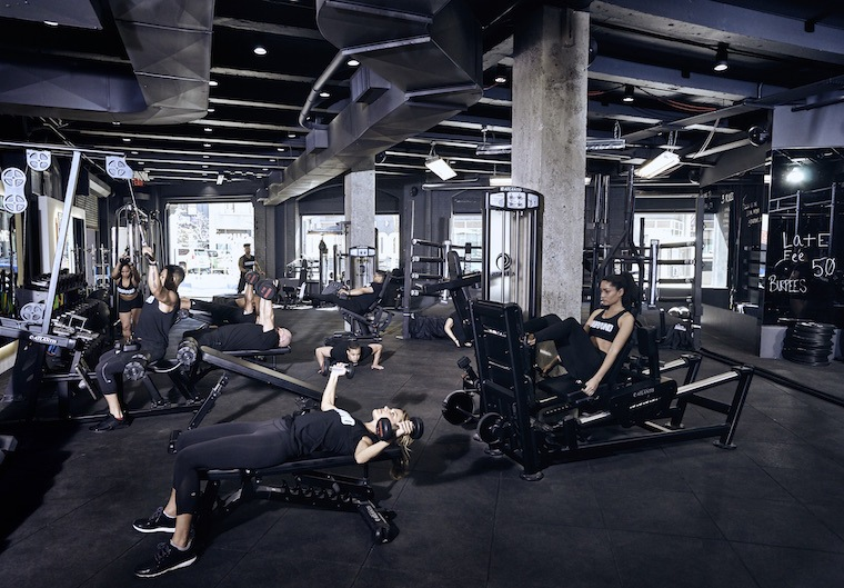 the dogpound new york 39 s trendiest new gym well good. Black Bedroom Furniture Sets. Home Design Ideas