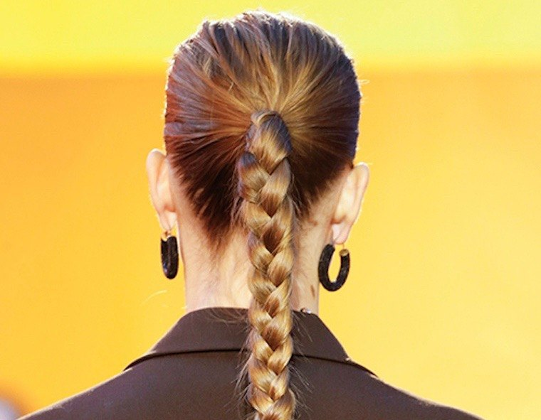 Thumbnail for Try this updated ponytail for spring