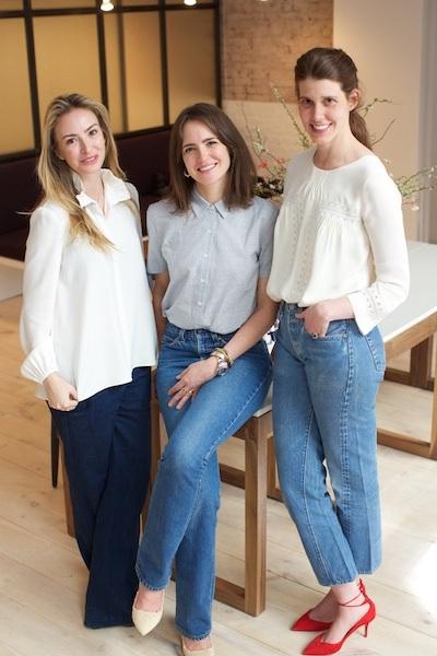 Jaclyn Ferber, Nadine Abramcyk, and Adair Ilyinsky