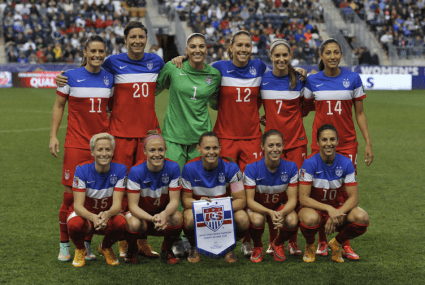 U.S. women's soccer champs' quest for equal pay