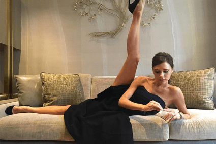 Victoria Beckham's (surprisingly relatable) morning workout