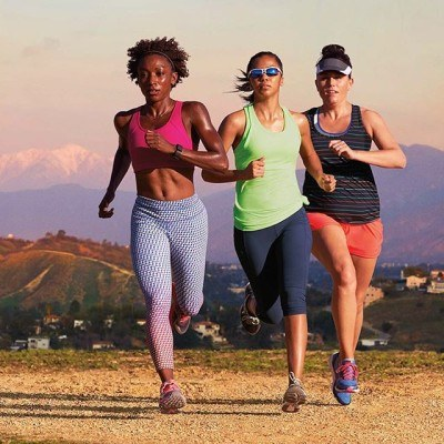 The only thing more euphoric than crossing your first finish line, is doing it alongside your girlfriends.  Join the new @athleta campaign #PowerOfShe, by rounding up your closest friends to tackle fun and sweaty challenges this spring, together.