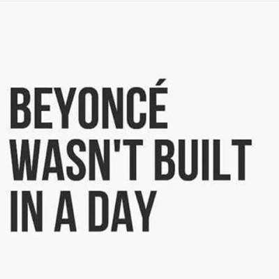 Pace yourself. #qotd #beyonce #inspiration #iamwellandgood