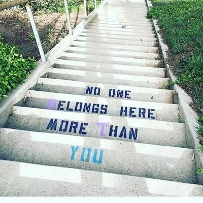 You belong. #regramlove @stepintothefield #iamwellandgood