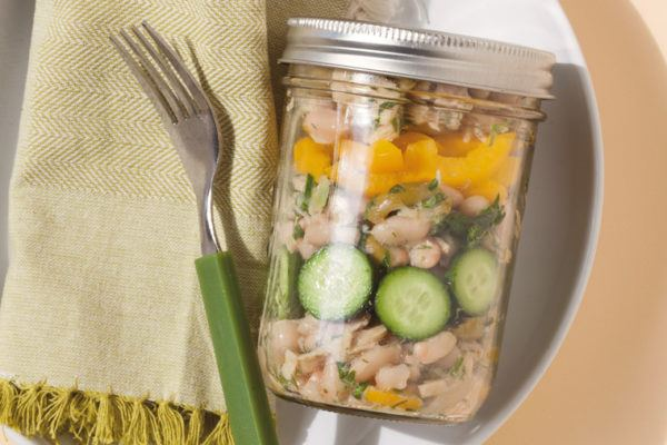 Thumbnail for 3 Pinterest-worthy portable salads for lunching on the go
