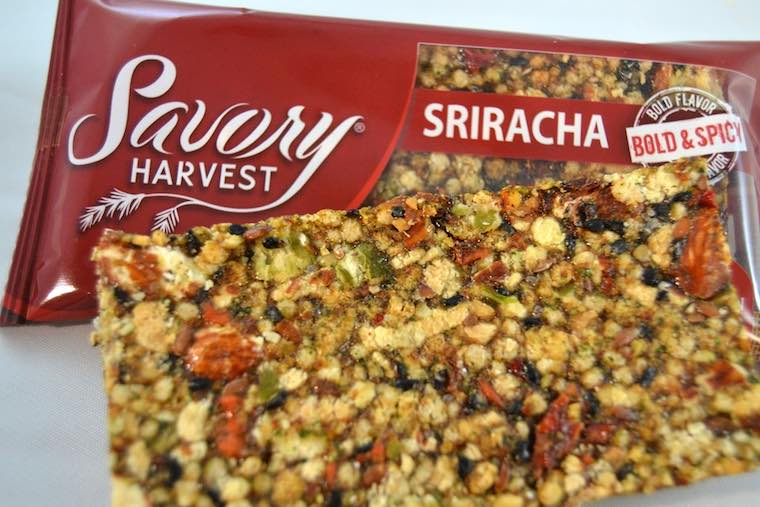 savory harvest snack bar