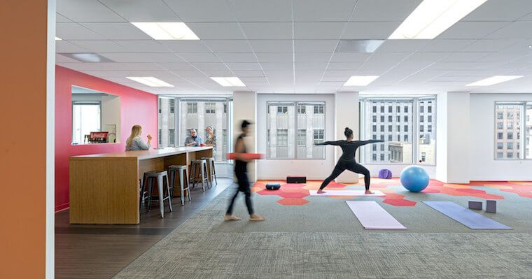 The offices with best wellness benefits well good