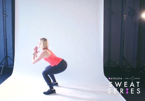 6-minute lower-body workout with Dagmara Lometti of Barry's Bootcamp